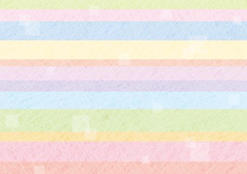 Japanese paper horizontal striped pattern 1