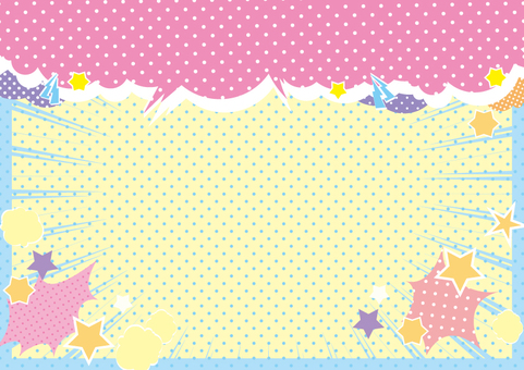 Fancy dot background 1a