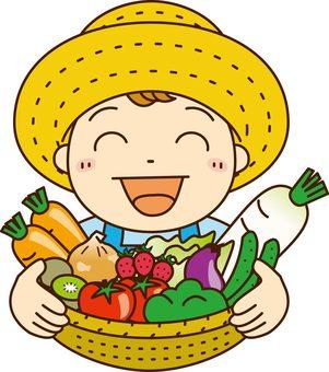 Vegetable boy 2
