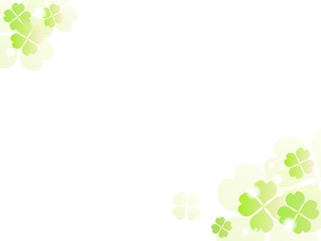 三葉草的裝飾框架3