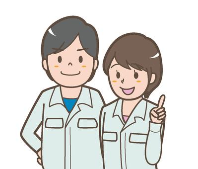 Factory staff Gender