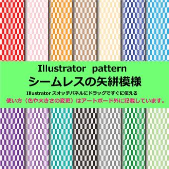 Illustrator Tanpaki pattern