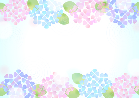 Pastel color hydrangea background 1
