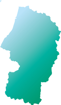 Yamagata Prefecture _ Silhouette _ Green_Grade