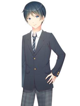 Men's high school student blazer