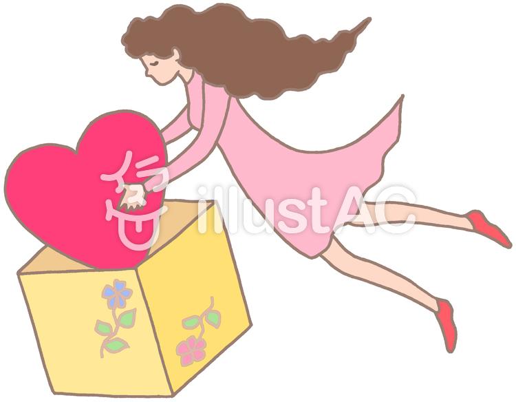バレンタインデー.10のイラスト
