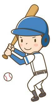 Baseball boy (batter)