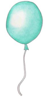 Balloon (Emerald Green)