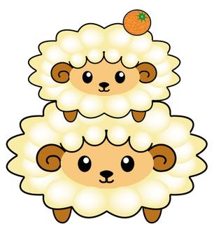 Sheep Mochi