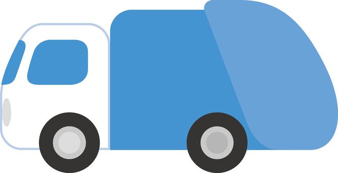Simple garbage truck