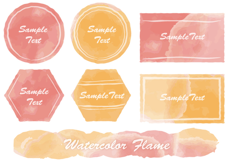 Watercolor style title 1