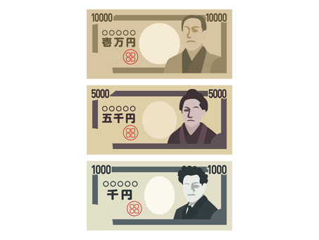 Money illustration set 02