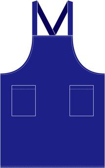 Apron (blue)