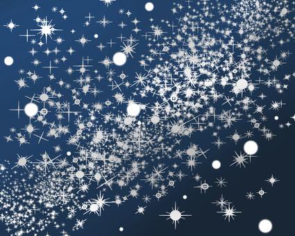 Starry sky back