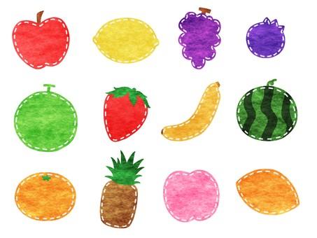 Cloth fruit