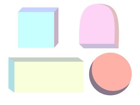 3D geometry frame