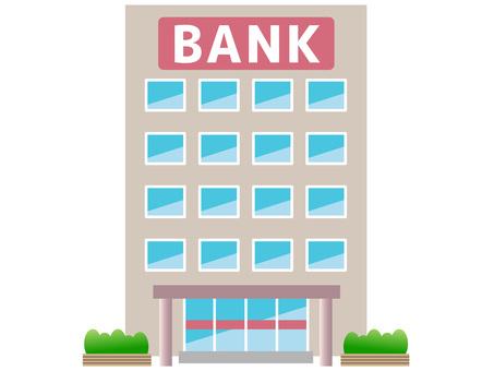 51118. Bank, building