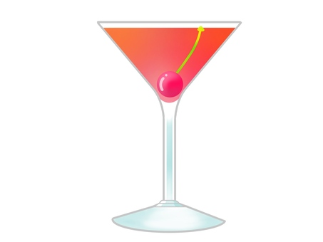 Cocktail pink