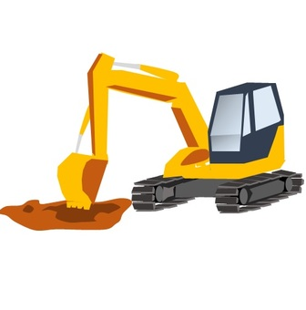 Excavator car (hole pear)