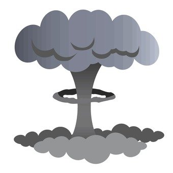Mushroom clouds