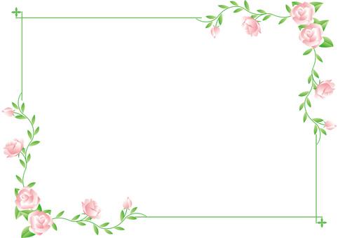 Vine Roses Frame