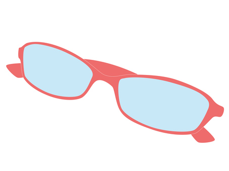 Glasses (pink rim)