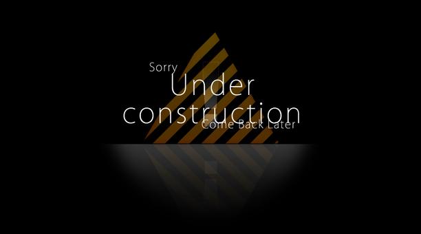 工事中Underconstruction