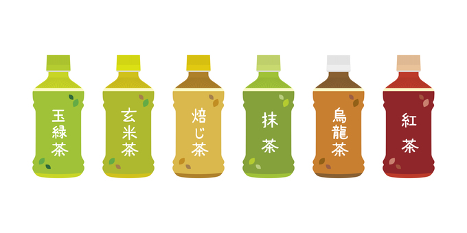 Plastic bottle tea