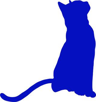 Cat Cat silhouette 4