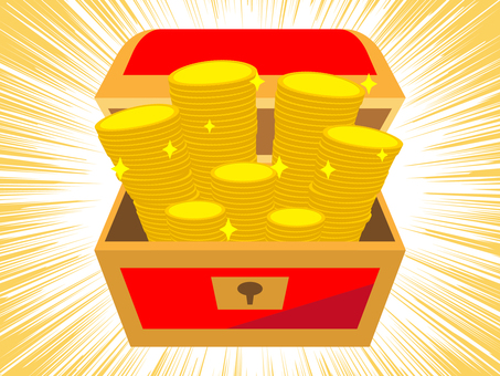 Treasure chest discovery
