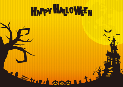 Halloween material background 01