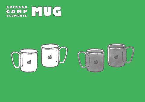 Camping mug
