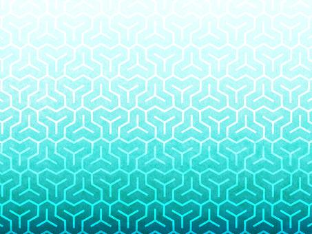Bishamon tortoise pattern background in Japanese paper color