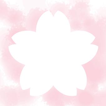 櫻花水彩圖標/框架2