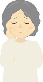 Worried grandmother 2