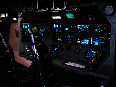 Cockpit in SF system rides