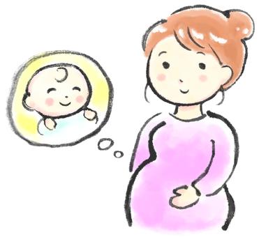 Pregnant woman 1
