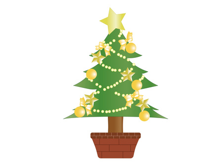 Christmas tree _ Yellow