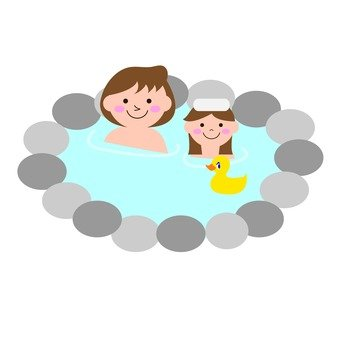 Mother and Child onsen