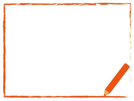 색연필 프레임