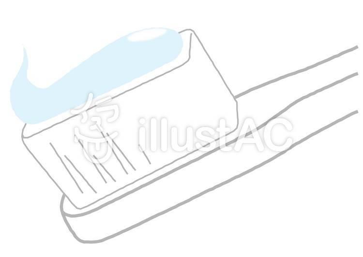 歯ブラシと歯みがき粉イラスト No 237424無料イラストなら