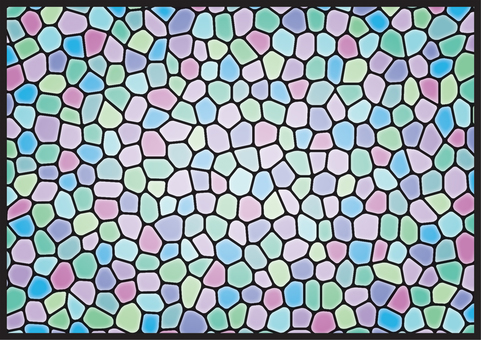 Stained glass (cold)