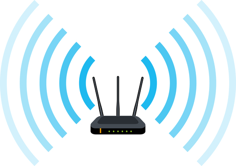 Wireless lan wifi router