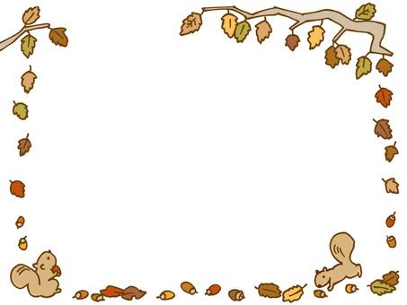 낙엽과 다람쥐