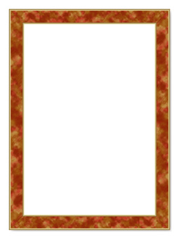 Frame _ marble style - gold