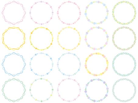Circular frame