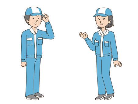 Character / male / female / operator / full body