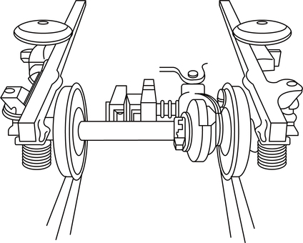 Train wheel commentary