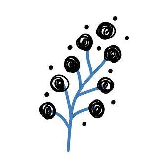 斯堪的納維亞的水果(黑)