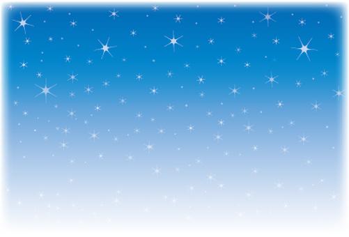 Sparkling star card